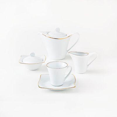 سرویس چینی 17 پارچه چای خوری زرین سری آسترو