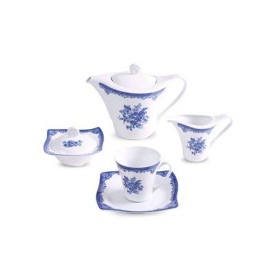 سرویس چینی 17 پارچه چای خوری فلورانس سری آسترو