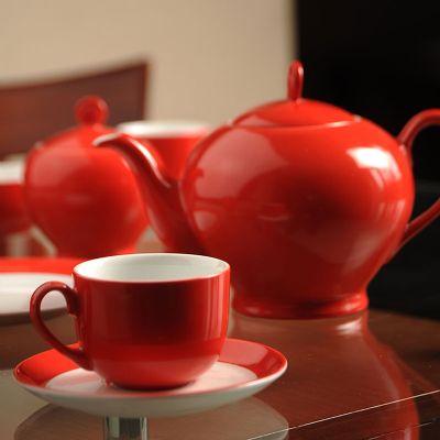 سرویس چینی 17 پارچه چای خوری گیلاس سری آلگرو