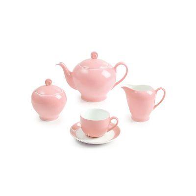 سرویس چینی 17 پارچه چای خوری ماربل سری آلگرو