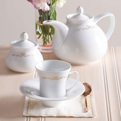 سرویس چینی 18 پارچه چای خوری پرنسس سری شهرزاد