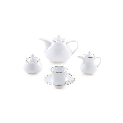 سرویس چینی 18پارچه چای خوری لومیو سری شهرزاد